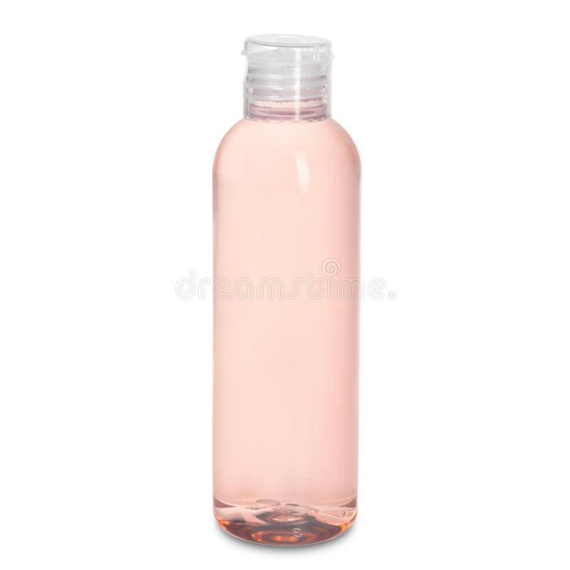 Bottle on white backgroun royalty free stock images