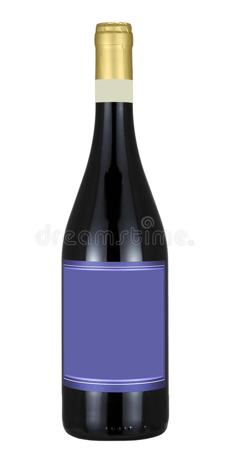 Download Bottle of wine stock photo. Image of alcohol, food, blank - 20390594