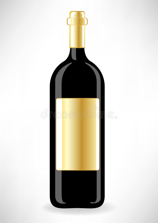Download Bottle of wine stock vector. Image of custom, alcohol - 21542448