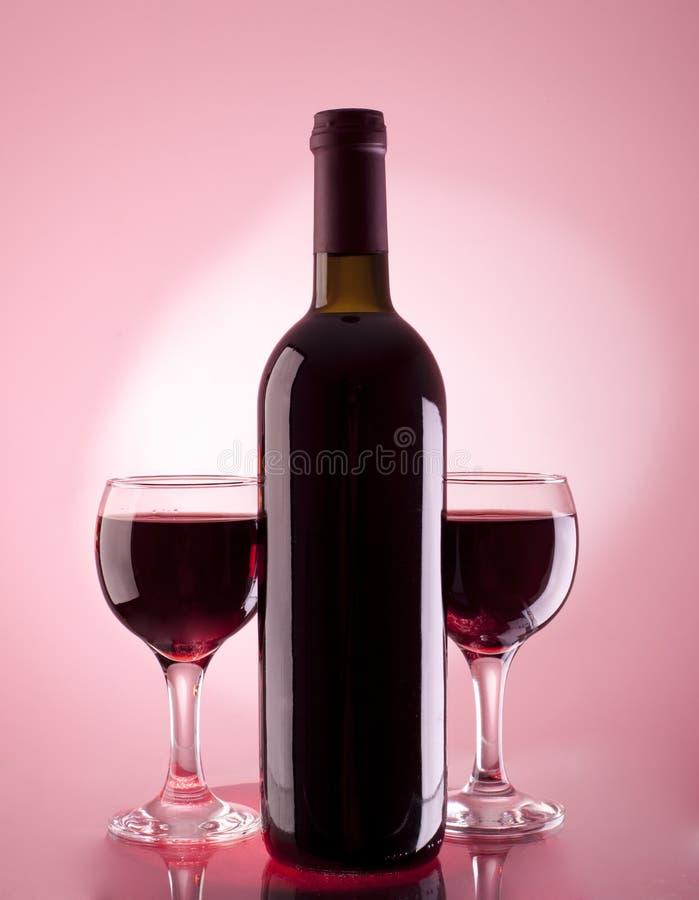 Download Bottle of wine stock photo. Image of dark, background - 26317250