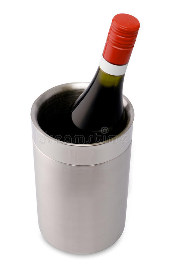 Download Bottle Wine Cooler Royalty Free Stock Photos - Image: 25296498