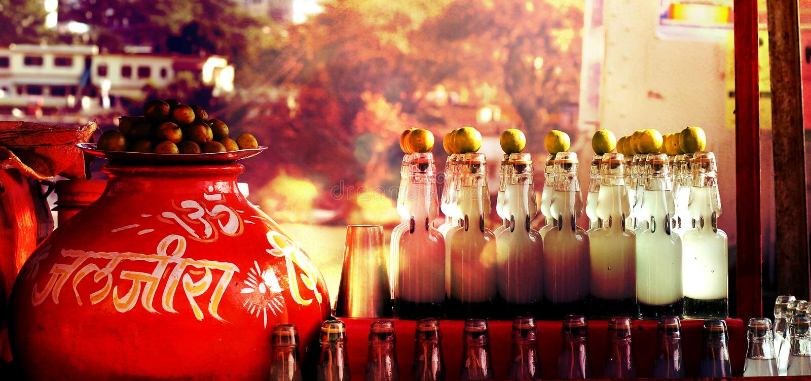 Bottled Drinks In Arabic Restaurant Free Public Domain Cc0 Image