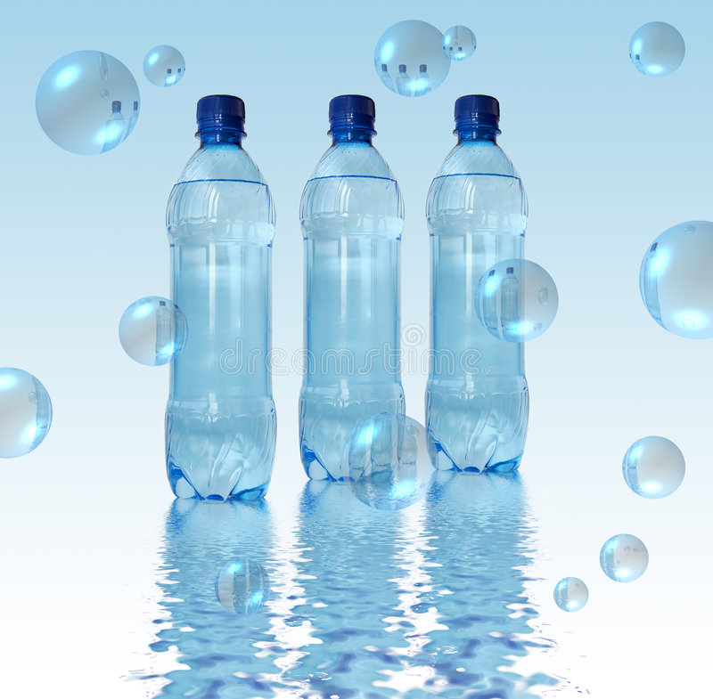 Download Bottled water stock photo. Image of drink, food, mineral - 4867182