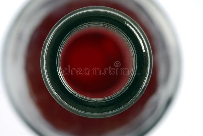 Bottleneck, bottle of wine, red wine stock photography