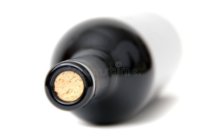 Download Bottleneck of red wine stock image. Image of glass, bottle - 22055207