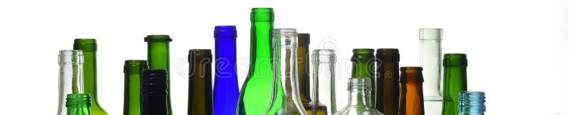 Bottlenecks on white background, stock photos
