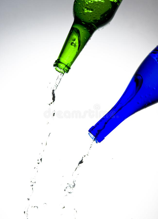 Download Bottles stock image. Image of drop, abstraction, glass - 8237405