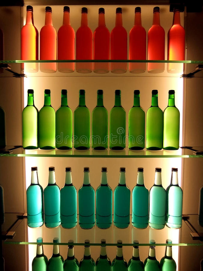 Download Bottles in color stock photo. Image of orange, glass - 19824696