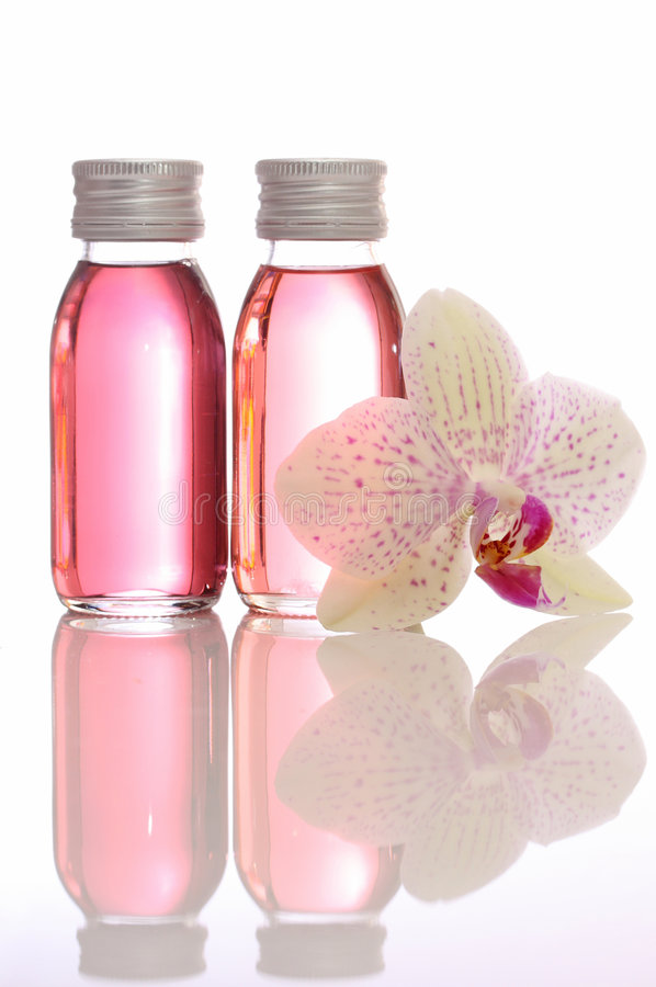 Download Bottles With Essential Oils Stock Photo - Image: 6144088