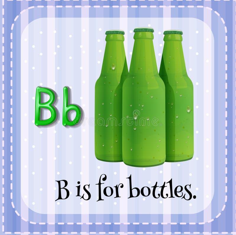 Bottles stock illustration