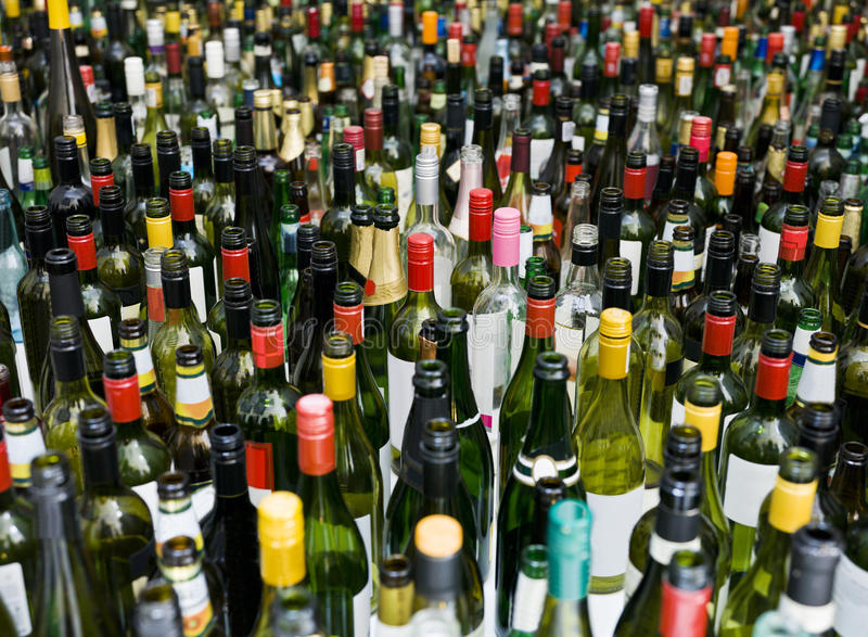 Download Bottles full frame stock photo. Image of abstract, winemaking - 21921916