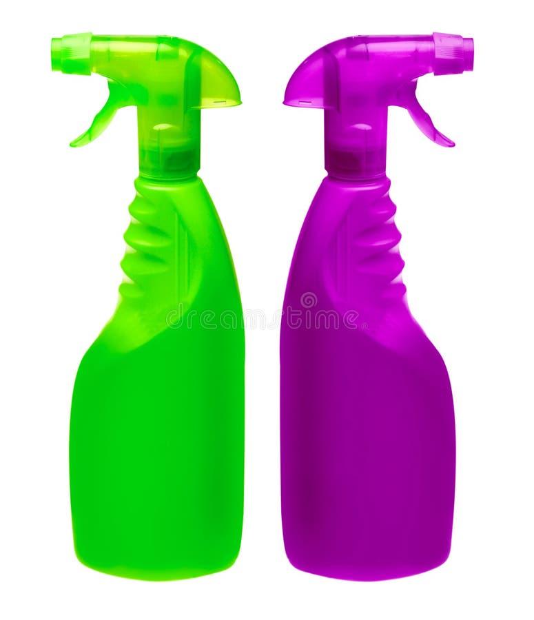 bottles generisk spray arkivbild