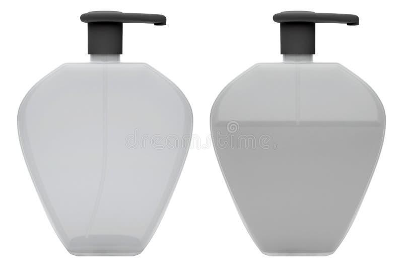 Bottles Of Liquid Soap Stock Photo