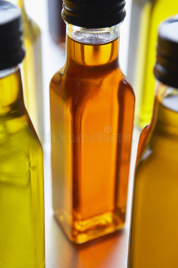 Download Bottles Of Olive Oil stock photo. Image of clear, gourmet - 8755478