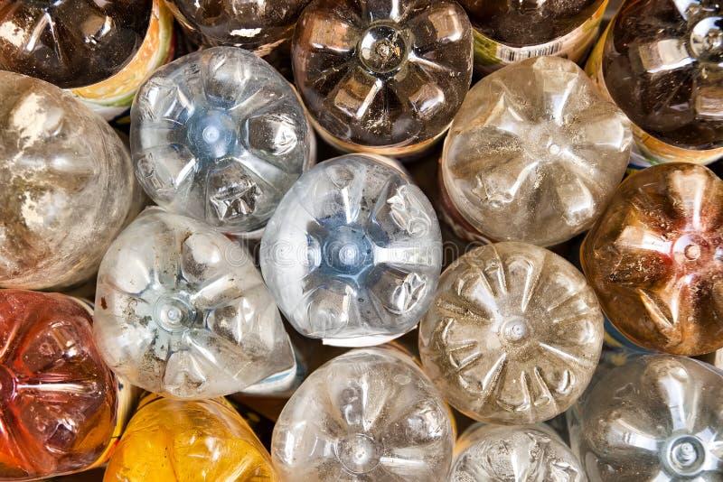 bottles plast- royaltyfria foton