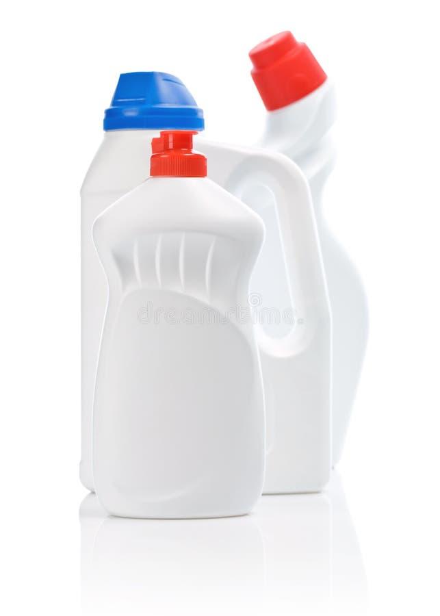 bottles sammansättningskökwhite royaltyfria bilder