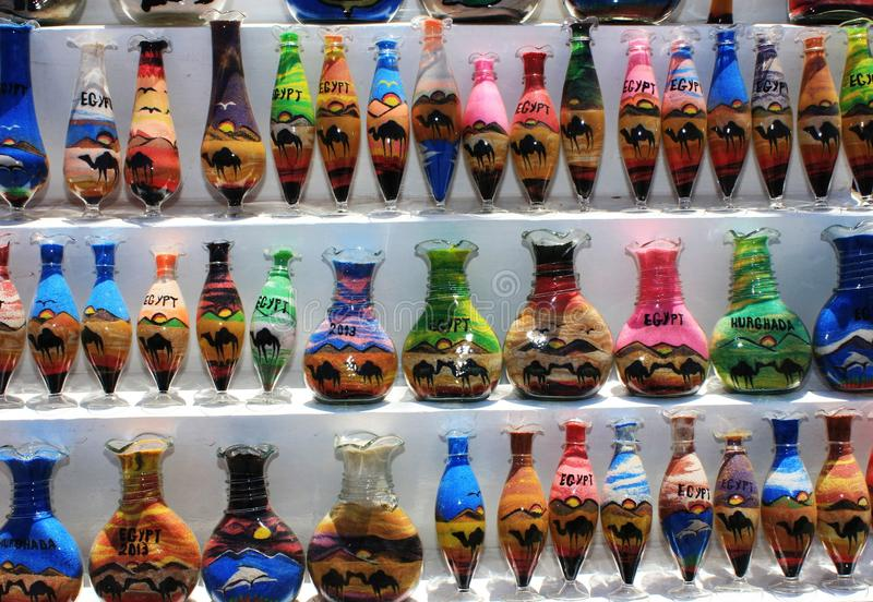 Download Bottles with sand picture stock image. Image of holiday - 42850861