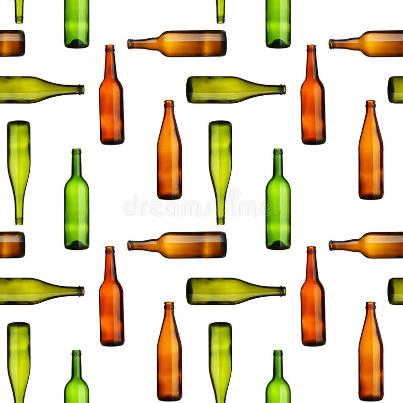 Download Bottles seamless stock image. Image of empty, background - 13600083