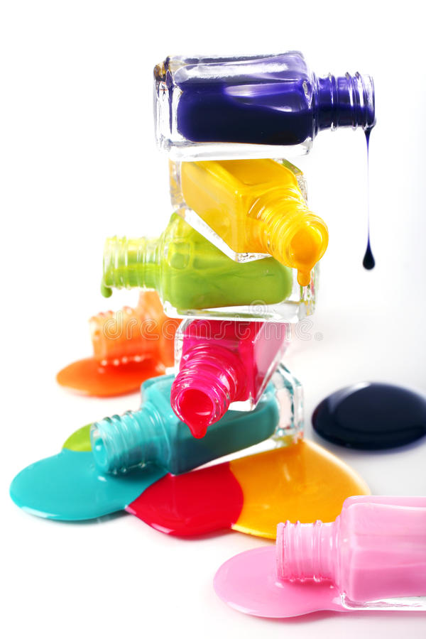 how to clean nail polish bottle
