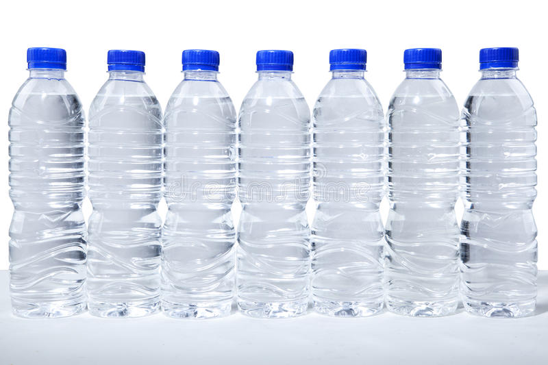 Bottles Of Water Royalty Free Stock Images