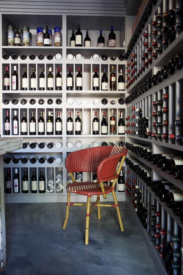 Download Bottles Of Wine On Shelves In A Wine Store Editorial Stock Photo - Image of drink, sale: 23710673