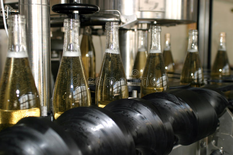 Bottling stock photography