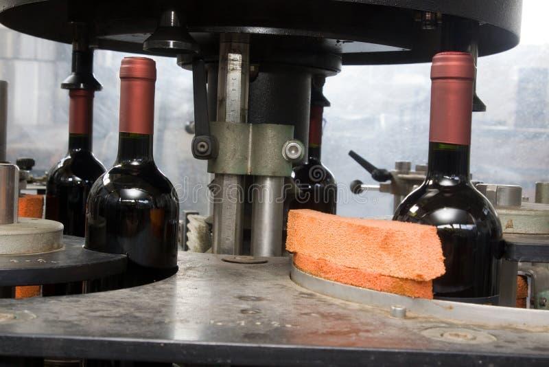 Bottling line stock photos