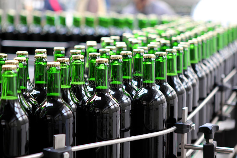 Download Bottling plant stock photo. Image of part, beer, industrial - 28216274