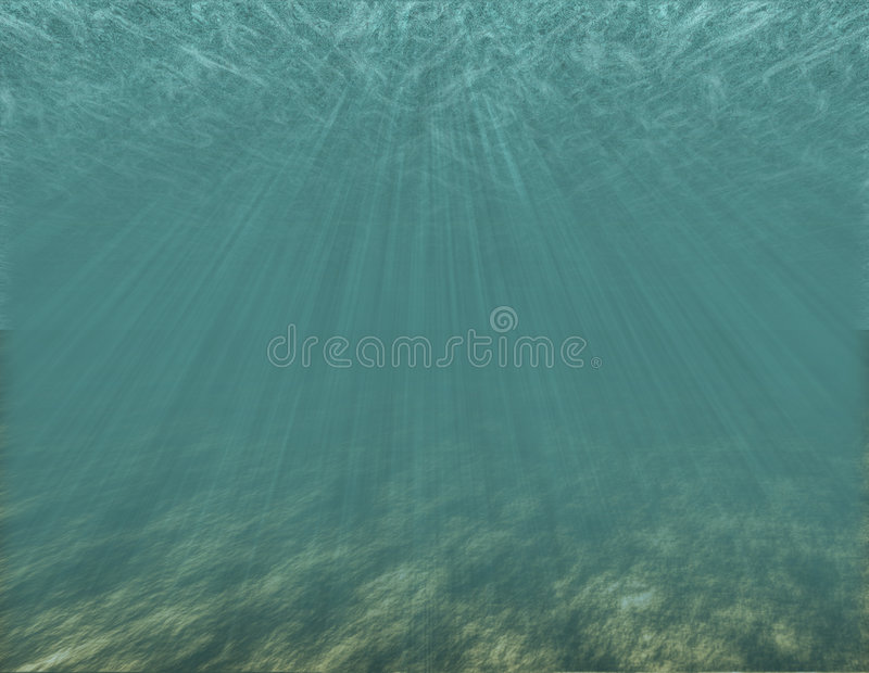 bottom ocean στοκ εικόνα