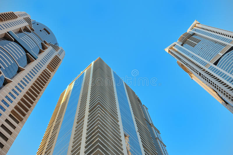 Download Bottom View Of Modern Skyscraper. Business District Stock Photo - Image: 37502468