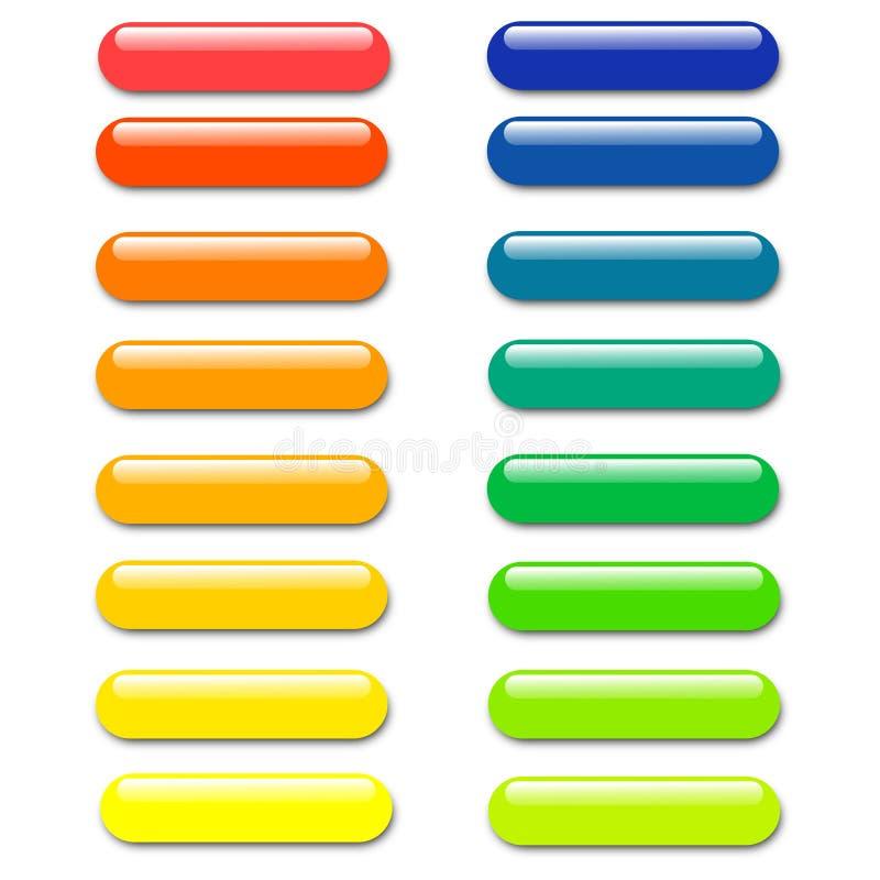 Bottone di web illustrazione di stock