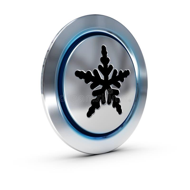 Bottone del condizionamento d'aria illustrazione di stock