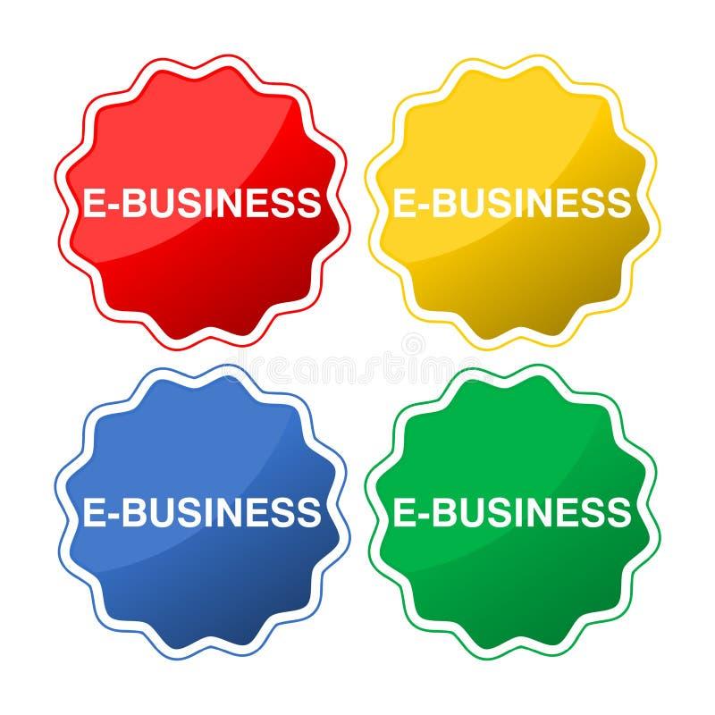 Bottone di commercio royalty illustrazione gratis
