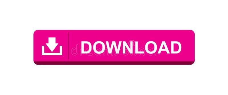 Bottone di download illustrazione di stock