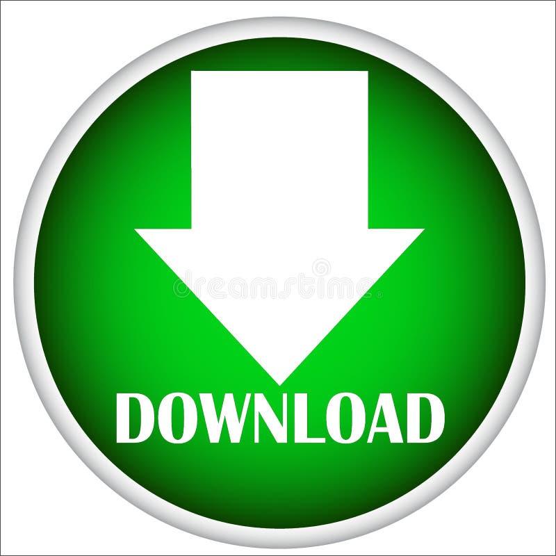 Bottone di download per il sito Web royalty illustrazione gratis