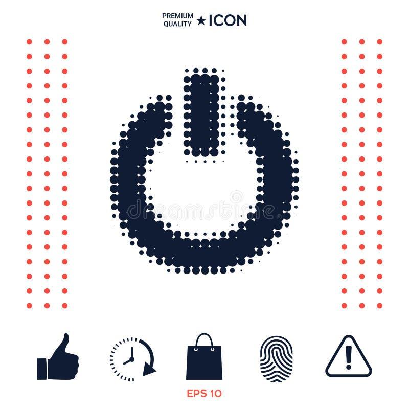 Download Bottone Di Potere - Logo Di Semitono Illustrazione Vettoriale - Illustrazione di interruttore, elettrico: 117976427