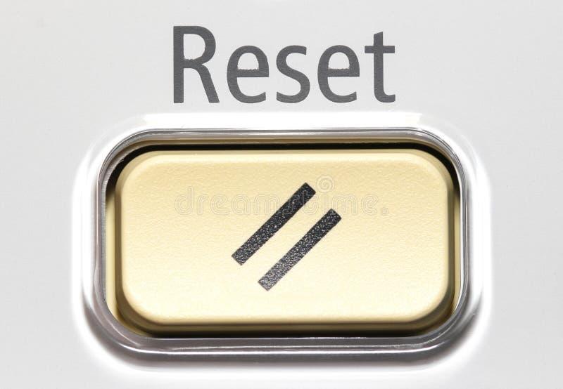 Bottone di risistemazione immagine stock