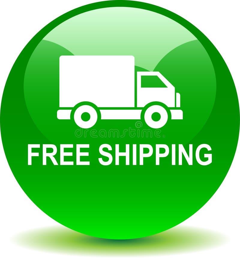 Bottone libero di web di trasporto royalty illustrazione gratis