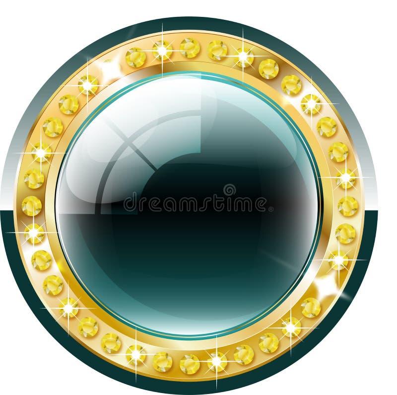 Bottone premio royalty illustrazione gratis