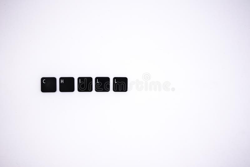 Bottoni del computer con le espressioni di gergo immagini stock