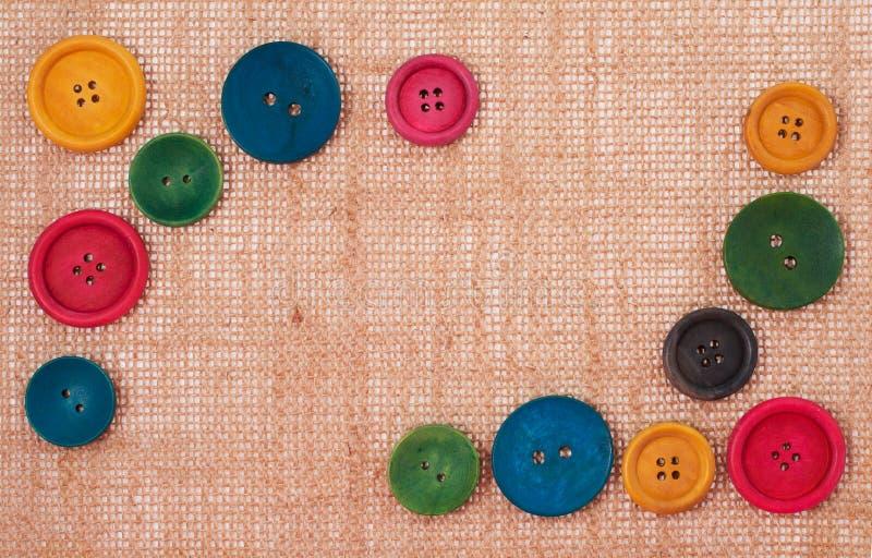 Bottoni della pagina fotografia stock libera da diritti