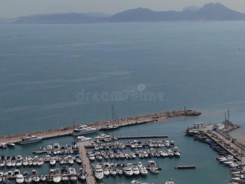Bou del sidi del puerto foto de archivo