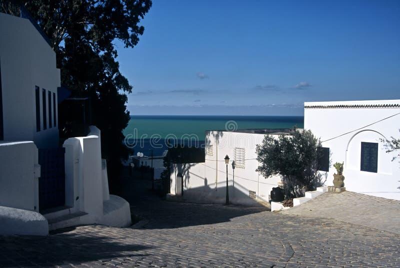 Bou dicho, Túnez del Sid fotos de archivo libres de regalías