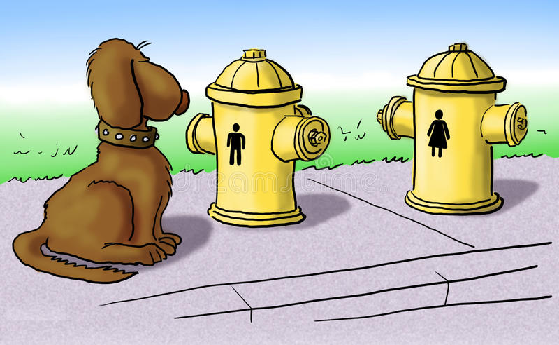 Bouche d'incendie illustration libre de droits