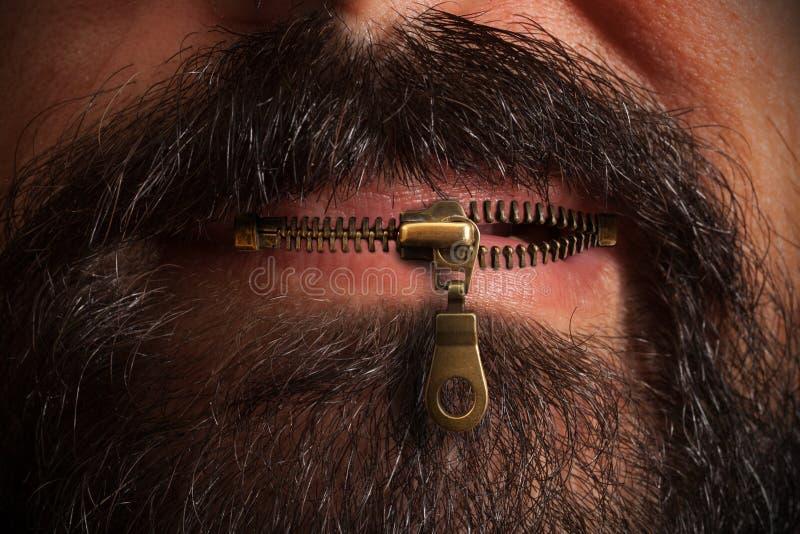 Bouche de tirette images libres de droits