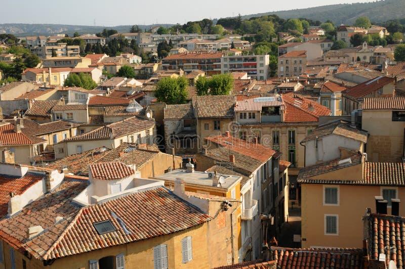 Bouche du Rhone, città del salone de Provenza immagine stock libera da diritti