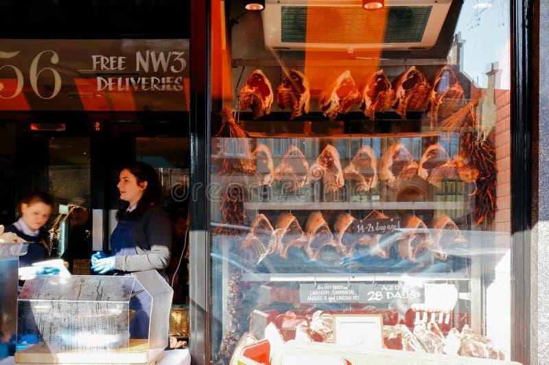 Bouchers locaux image libre de droits