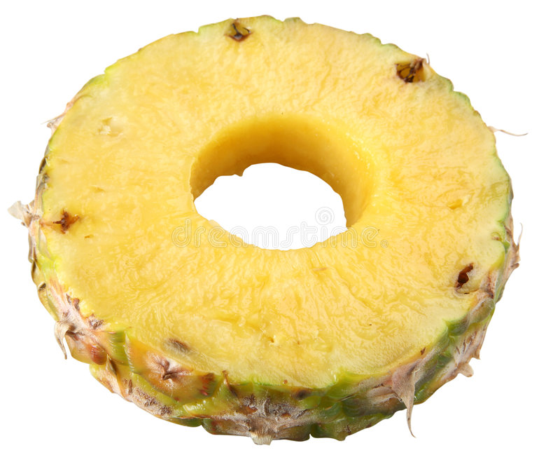 Boucle d'ananas images libres de droits
