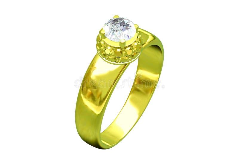 Boucle d'or de mariage illustration stock