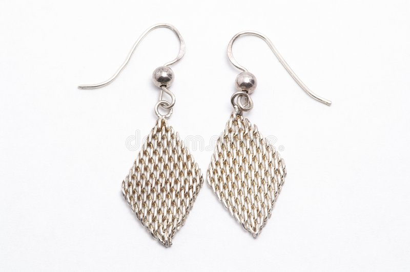Boucle d'oreille photo stock